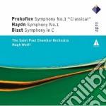 Prokofiev - Haydn - Bizet - Wolff - Apex: Sinfonie N. 1 & Sinfonia In Do Magg. cd musicale di Prokofiev - haydn -