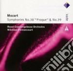 Apex: sinfonie nn. 38 (praga) & 39 cd musicale di Mozart\harnoncourt
