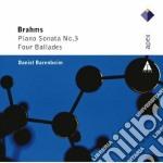 Apex: piano sonata n. 3 & 4 ballate cd musicale di Brahms\barenboim