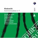 Apex: kammermusiken 1-7 cd musicale di A Hindemith\concerto