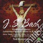 Passioni matteo & giovanni - messa si mi cd musicale di Bach j.s.\koopman -