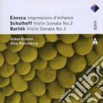 Apex: impressions d'enfance - sonate vio cd musicale di Enescu - schulhoff -