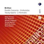 Apex: doppio concerto - sinfonietta - yo cd musicale di Britten\nagano - kre