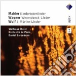 Apex: kindertotenlieder - wesendonck lie cd musicale di Mahler - wagner - wo