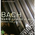 L'integrale per organo (box set) cd musicale di Bach\alain m. claire