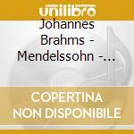 Apex: doppio concerto - concerto per vio cd musicale di Brahms - mendelssohn