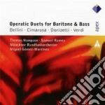 Apex: duetti per baritono e basso cd musicale di Bellini-cimarosa-don