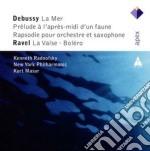 Apex: la mer - preludio apres midi d'un cd musicale di Debussy\masur - radn