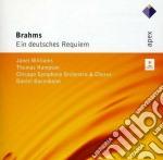 Apex: requiem tedesco cd musicale di Brahms\barenboim - w