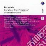 Bernstein - Sado - Mattila - Menuhin - Apex: Sinfonia N. 3 - Salmo Chichester cd musicale di Bernstein\sado - mat