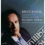 Le sinfonie n. 0 - 9 & la sinfonia in fa cd musicale di BRUCKNER\INBAL (BOX)