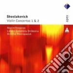 Apex: concerti per violino nn. 1 & 2 cd musicale di Shostakovich\rostrop