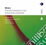 Apex: clarinetto concerti 1 & 2 - grand cd musicale di Weber\masur - golan