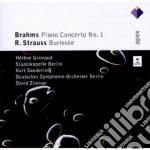 Brahms - Strauss R. - Zinman - Grimaud - Apex: Piano Concerto N. 1 - Burleske cd musicale di Brahms - strauss r.\