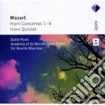 Mozart - Marriner - Pyatt - Apex: Concerti Per Corno 1-4 - Quintetti Per Corno cd musicale di Mozart\marriner - py