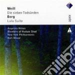 Apex: die sieben todsunden - lulu suite cd musicale di Weill - berg\masur -