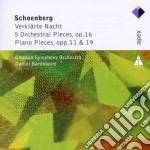 Apex: verklarte nacht - 5 brani per orch cd musicale di Schoenberg\barenboim
