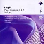 Apex: piano concerti 1 & 2 - valzer cd musicale di Chopin\wit - drewnow