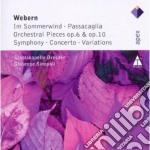Apex: composizioni per orchestra cd musicale di Sta Webern\sinopoli-