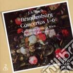 CONCERTI BRANDEBURGHESI 1-6               cd musicale di BACH\HARNONCOURT - C