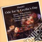 ODE PER GIORNO DI SANTA CECILIA HWV 76    cd musicale di Handel\harnoncourt -