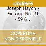Daw50: sinfonie nn. 31 - 59 & 73 cd musicale di Haydn\harnoncourt