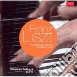 Liszt - Bellucci Giovanni - Parafrasi Da Opere Di Bellini & Verdi cd musicale di Giova Liszt\bellucci
