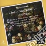L'INCORONAZIONE DI POPPEA                 cd musicale di MONTEVERDI\HARNONCOU