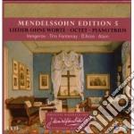 Mendellsohn edition vol. 5 (lieder -otte cd musicale di MENDELLSSOHN\VENGERO