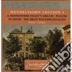 Mendelssohn edition vol. 4 (sogno-te deu cd musicale di MENDELSSOHN\MASUR -