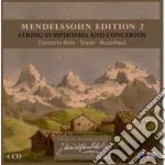 SINFONIE X ARCHI                          cd musicale di MENDELSSOHN\STAIER-