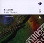 Apex: trii per pianoforte 2-4 cd musicale di Fonte Roslavets\trio