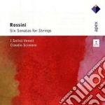 Apex: 6 sonate per archi cd musicale di Clau Rossini\scimone