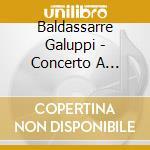 APEX: CONCERTO A QUATTRO-CADUTA DI ADAMO cd musicale di Galuppi\scimone - so