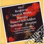 Daw 50: battalia & sonate - requiem cd musicale di BIBER\HARNONCOURT