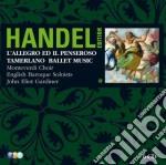 Handel ed. vol.3: allegro e il pensiero- cd musicale di Handel\gardiner (b