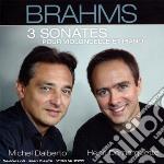 3 SONATE PER CELLO E PIANO (1-2 OP 38-99 cd musicale di BRAHMS\DEMARQUETTE -