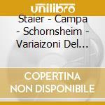 DAW 50: VARIAIZONI DEL FANDANGO SPAGNOLO cd musicale di Vari\staier - campa