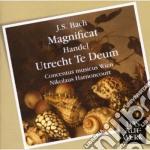 DAW 50: MAGNIFICAT BWV 243 - TE DEUM HWV cd musicale di Bach - handel\harnon