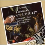 DAW 50: CANTATE SACRE BWV 67 - 108 & 127 cd musicale di Bach\richter - munic