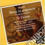 DAW 50: NELSON MASS - TE DEUM cd musicale di Haydn\harnoncourt -