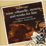 DAW 50: ARIE - VILLANELLE E COMPOSIZIONI cd musicale di Kapsberger\laurens -