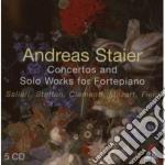 Concerti e brani per pianoforte cd musicale di SALIERI-STEFFAN-CLEM