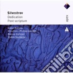 Silvestrov - Kremer - Sacharov - Munchner - Apex: Dedication & Post Scriptum cd musicale di Silvestrov\kremer -