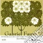 L'integrale per pianoforte cd musicale di FAURE'\HUBEAU