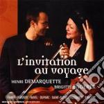 INVITO AL VIAGGIO: SAINT SAENS-DEBUSSY- cd musicale di VARI\ENGERER - DEMAR