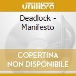 MANIFESTO cd musicale di DEADLOCK