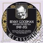1949-1951 cd musicale di Benny goodman & his