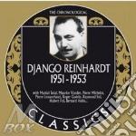 1951-1953 cd musicale di Django Reinhardt