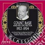 1953-1954 cd musicale di Count basie and his